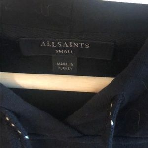 All Saints Tops - All saints Cotton hoodie